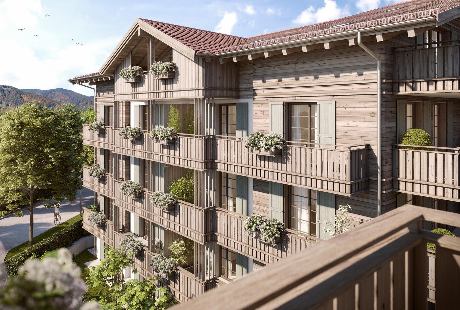 Residenz Neureuth - exklusive Eigentumswohnungen im Herzen von Tegernsee