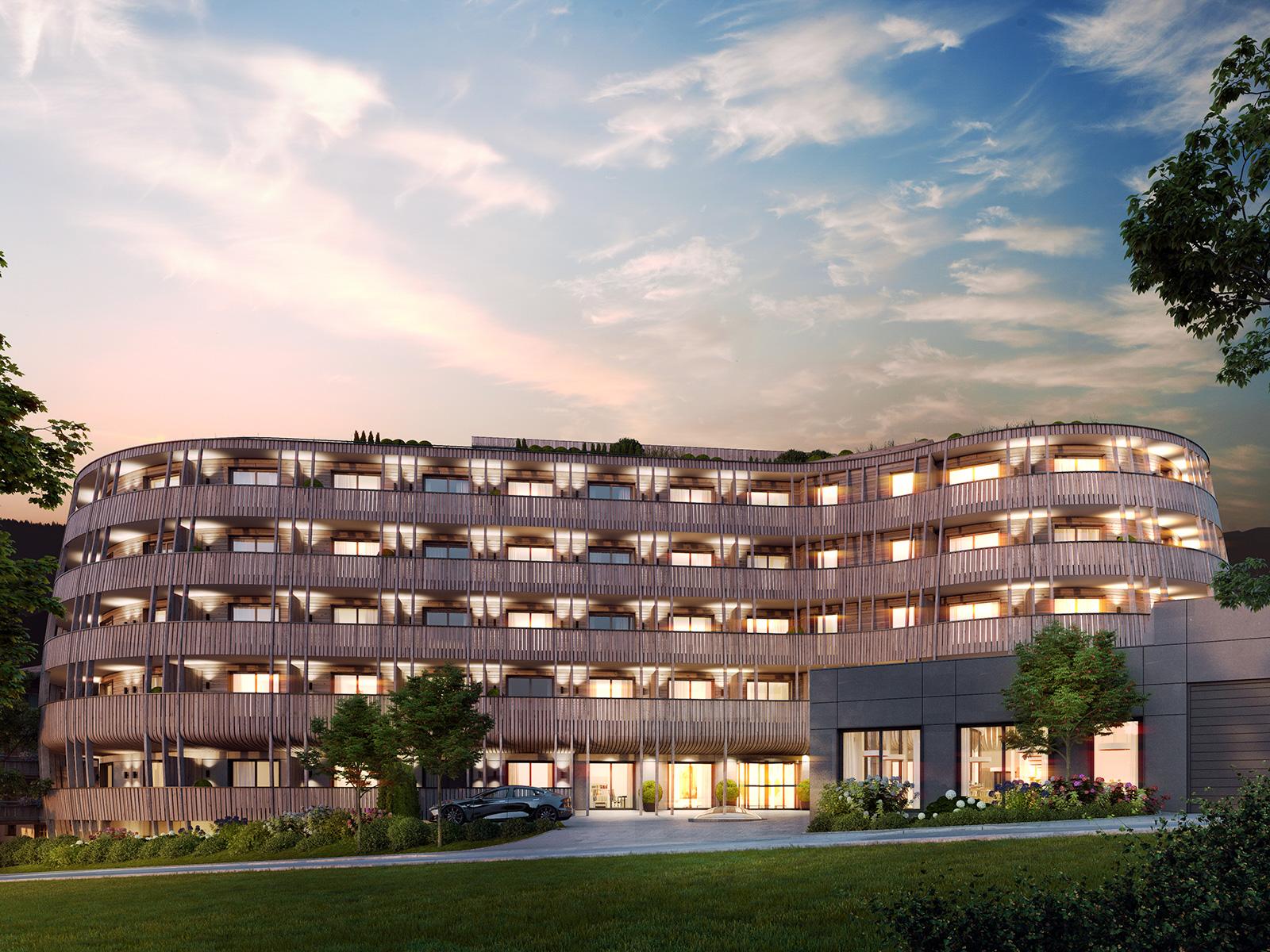 Das Hotel im Quartier Tegernsee - exklusive Eigentumswohnungen im Herzen von Tegernsee