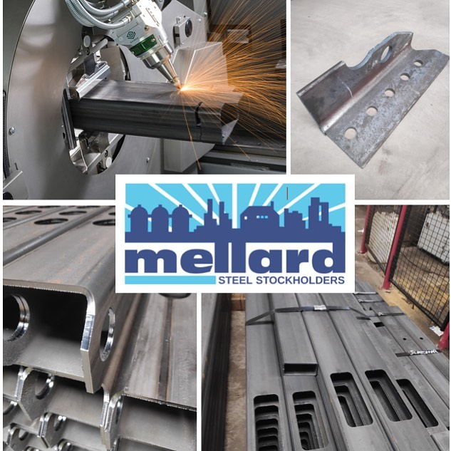 Tube Laser cutting at Mellard's. Quality, Speed & Precision.