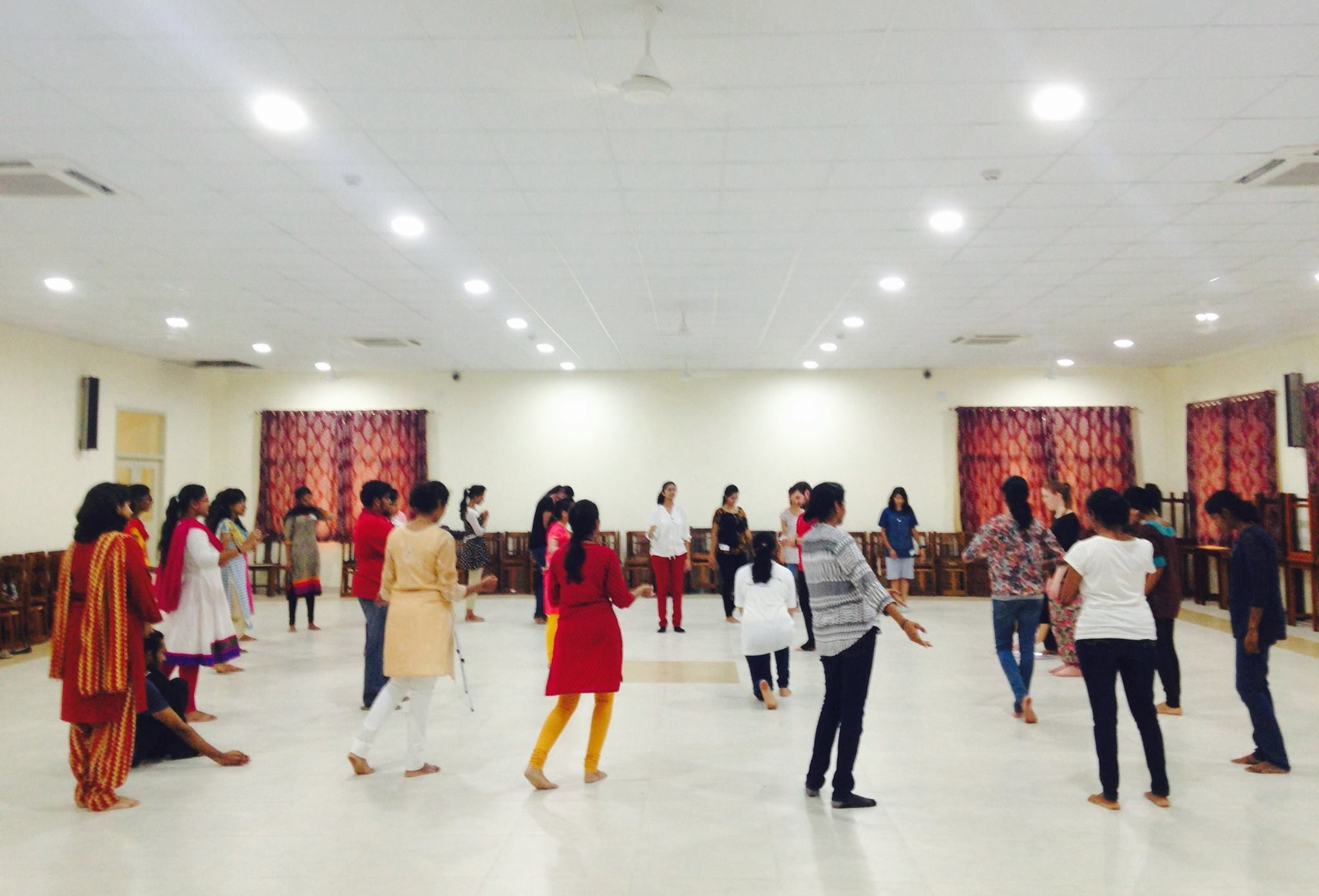The Natashas Project - workshop in India.