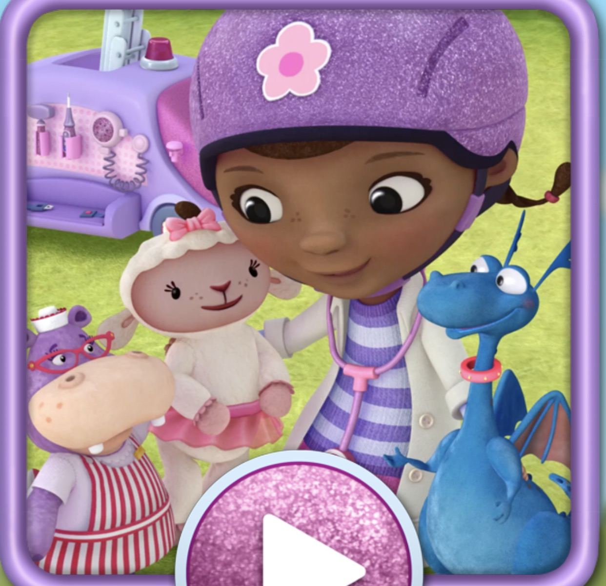 Doc McStuffins Mobile Clinic - Just hits a certain tone which is nails-down-a-blackboard-painful. £2.49