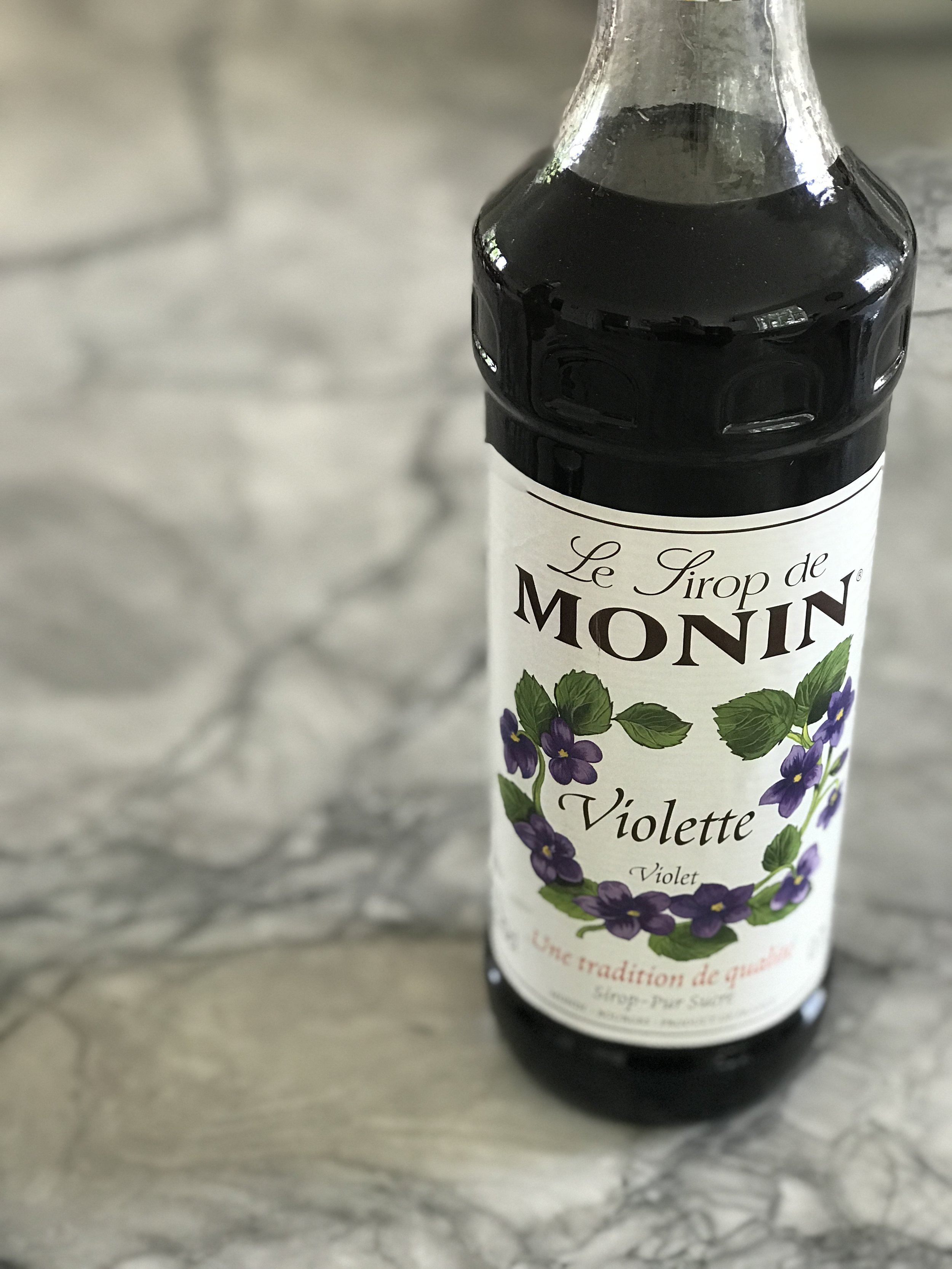 Monin Violette Syrup - I bought this on Amazon