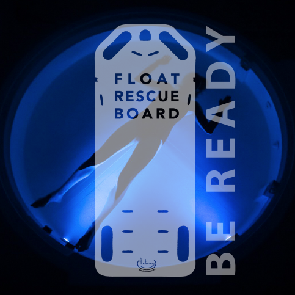 The first water rescue board designed for float centers
