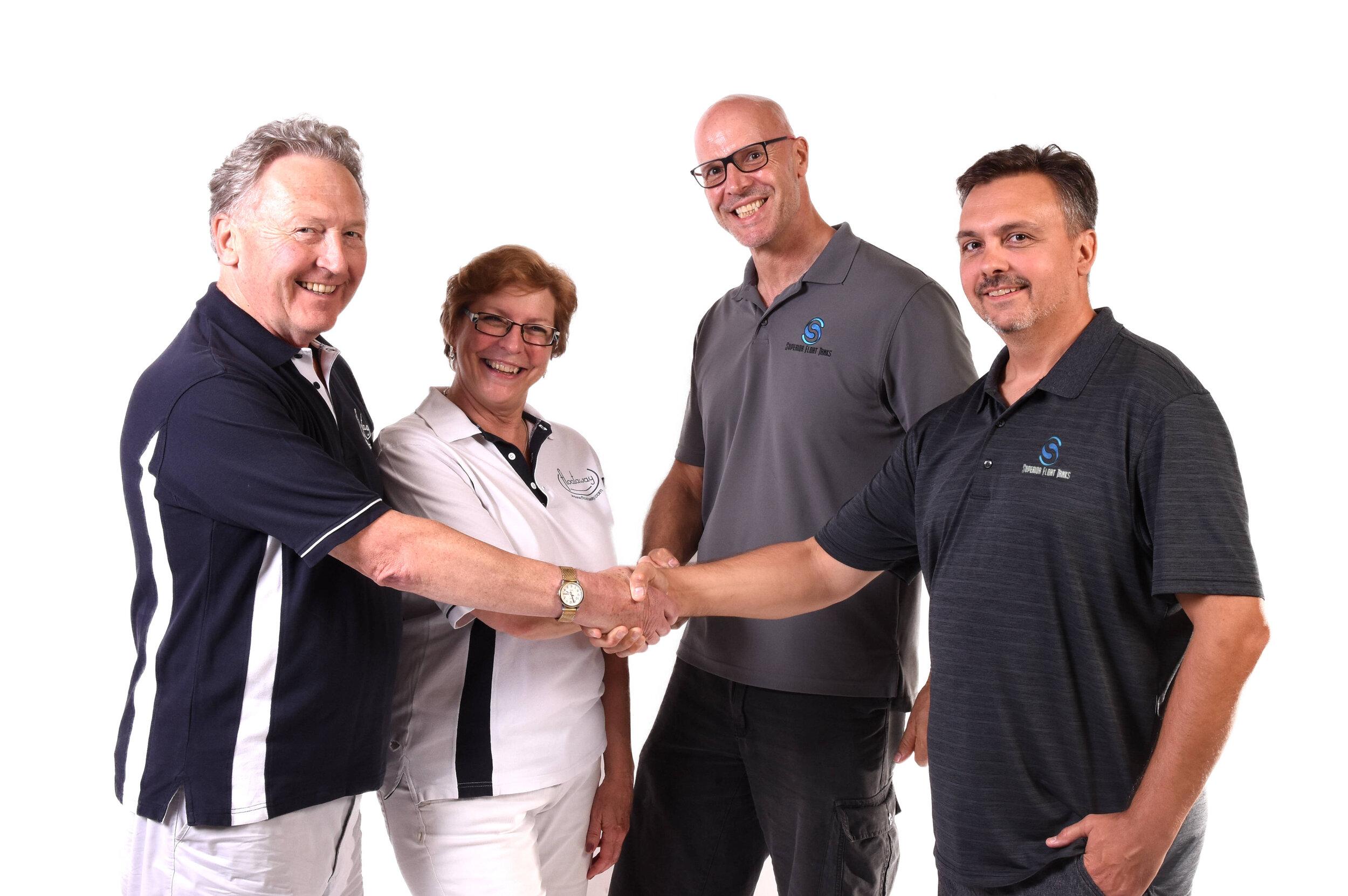 Floataway Superior team handshake WHT.jpg