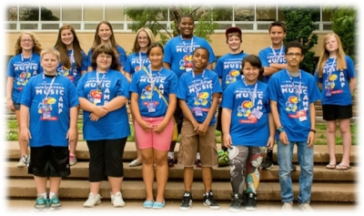 Students experience summer band camp thanks to the generosity of Band of Angels donors.