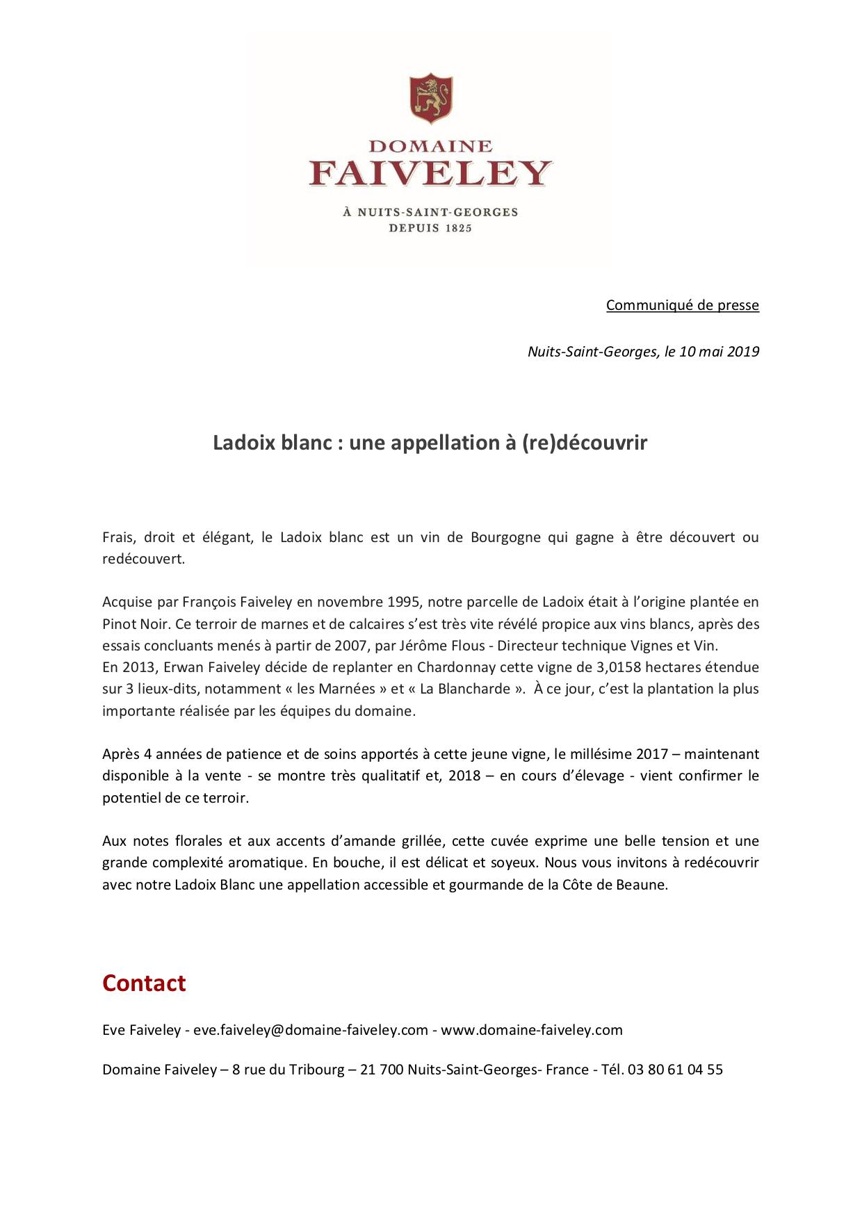 Communiqué de presse - Ladoix Blanc - Domaine Faiveley.png