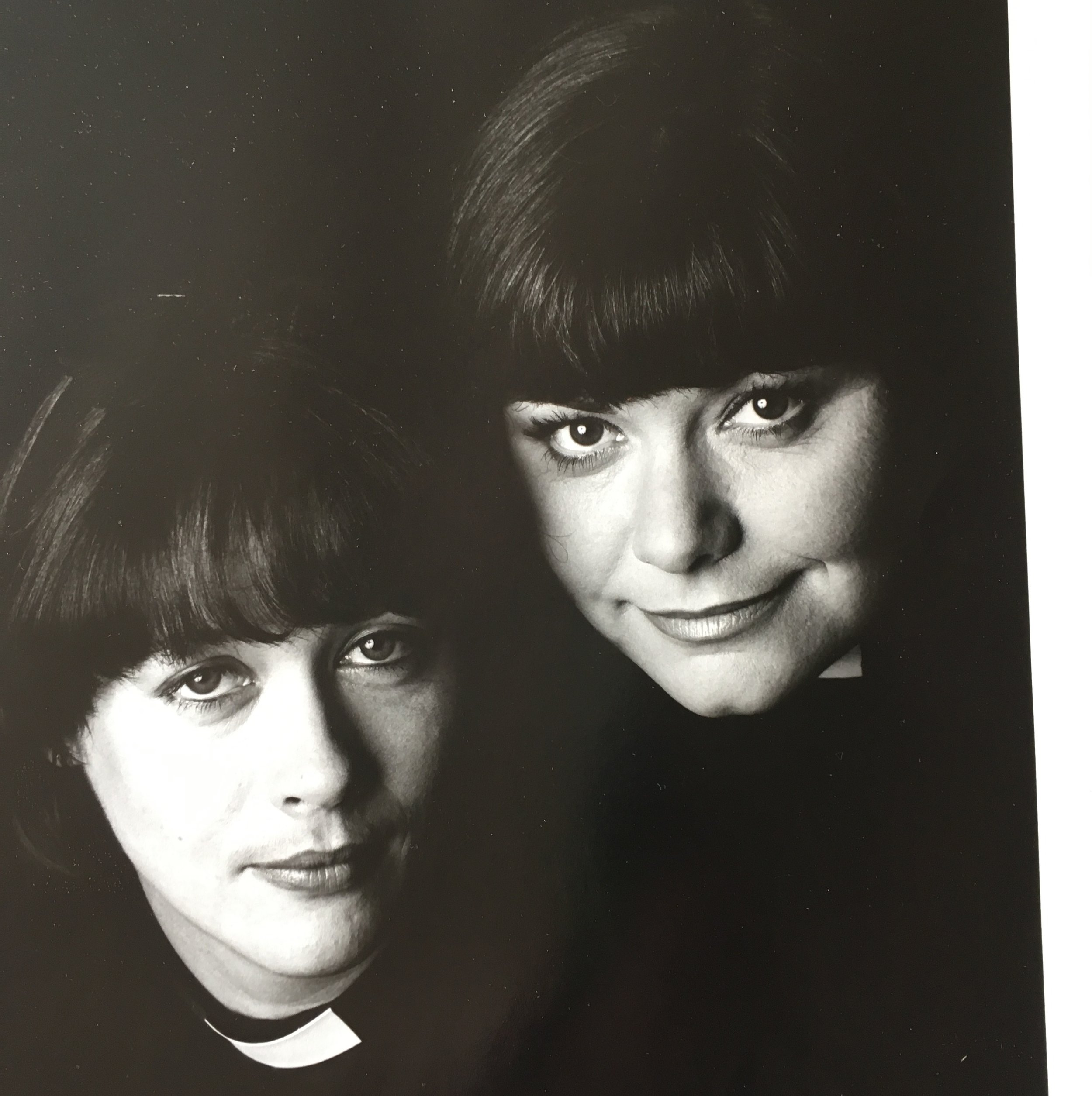 A photo of myself and Dawn French - Geraldine in  The   Vicar of Dibl  ey!