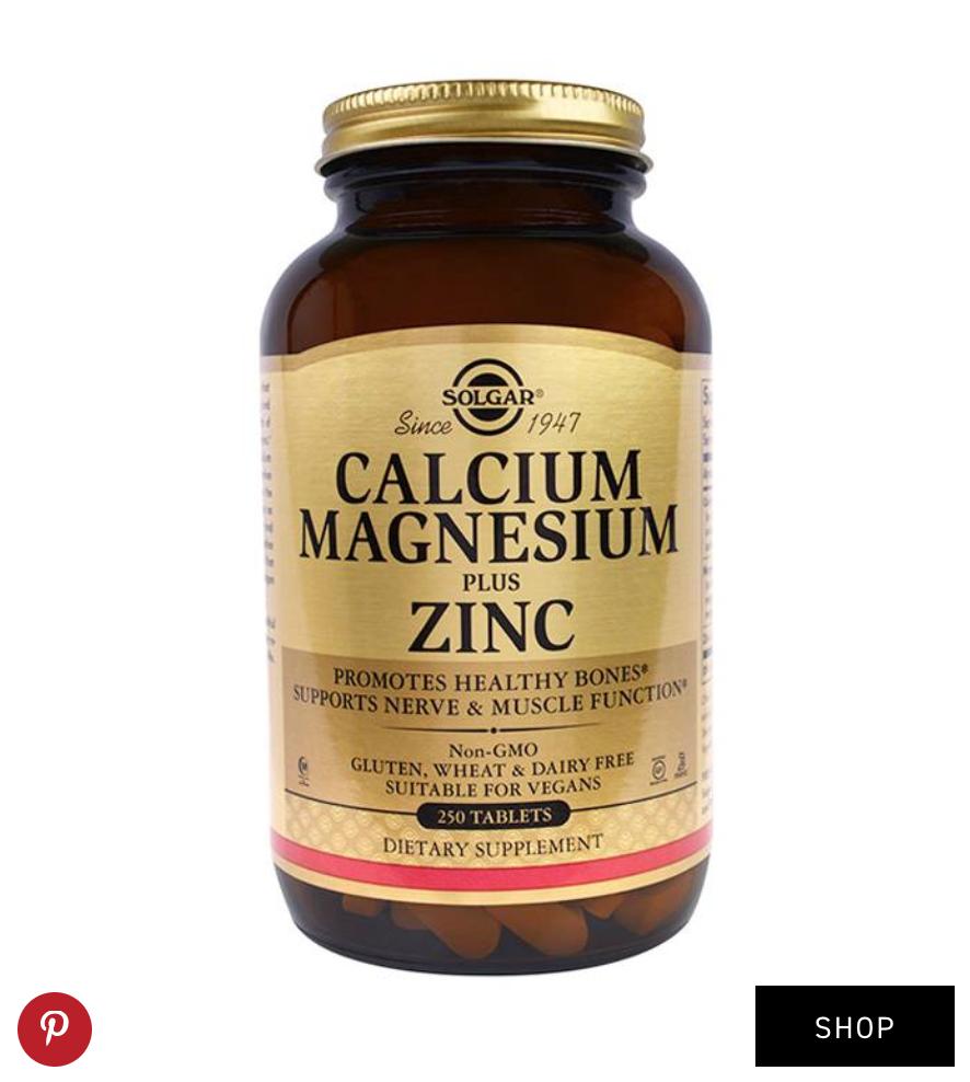 Solgar  Calcium Magnesium Zinc ($15)