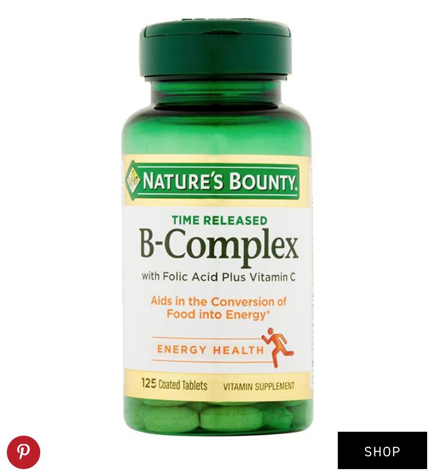 Nature's Bounty  B-Complex Vitamins ($7)
