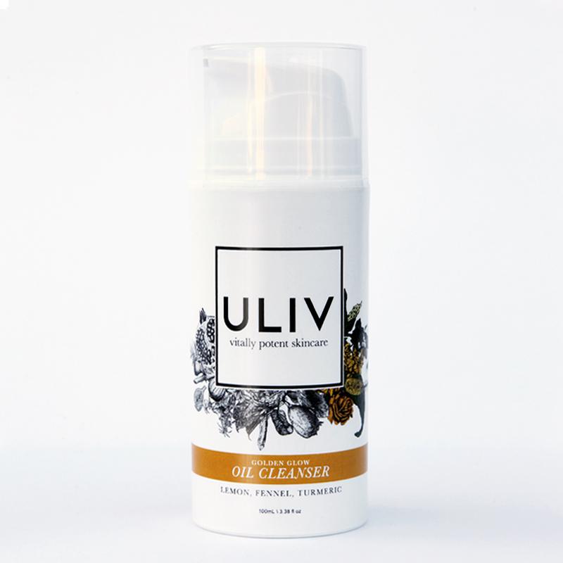 ULIV Golden Glow Oil Cleanser ($28)