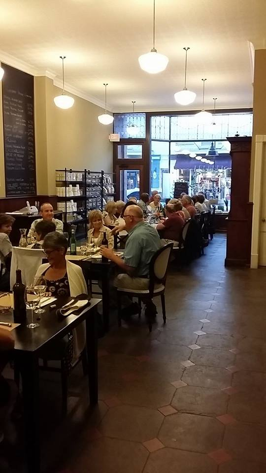 Communal Dinner at LIFeSTYLE with new friends and great food! Picture from LIFeSTYLE Facebook Page.