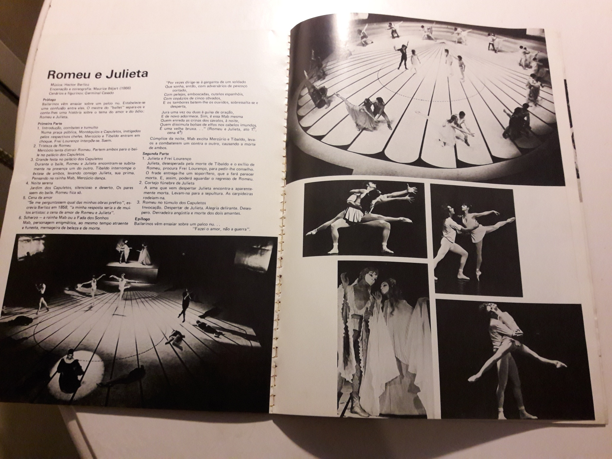 "Béjart's Programme of ""Roméo et Juliette"" (Rio de Janeiro, 1979)"