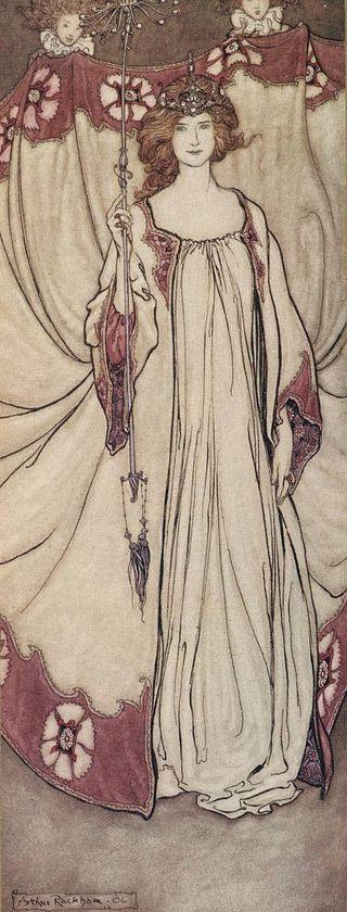 Queen Mab by Rackham (1906)