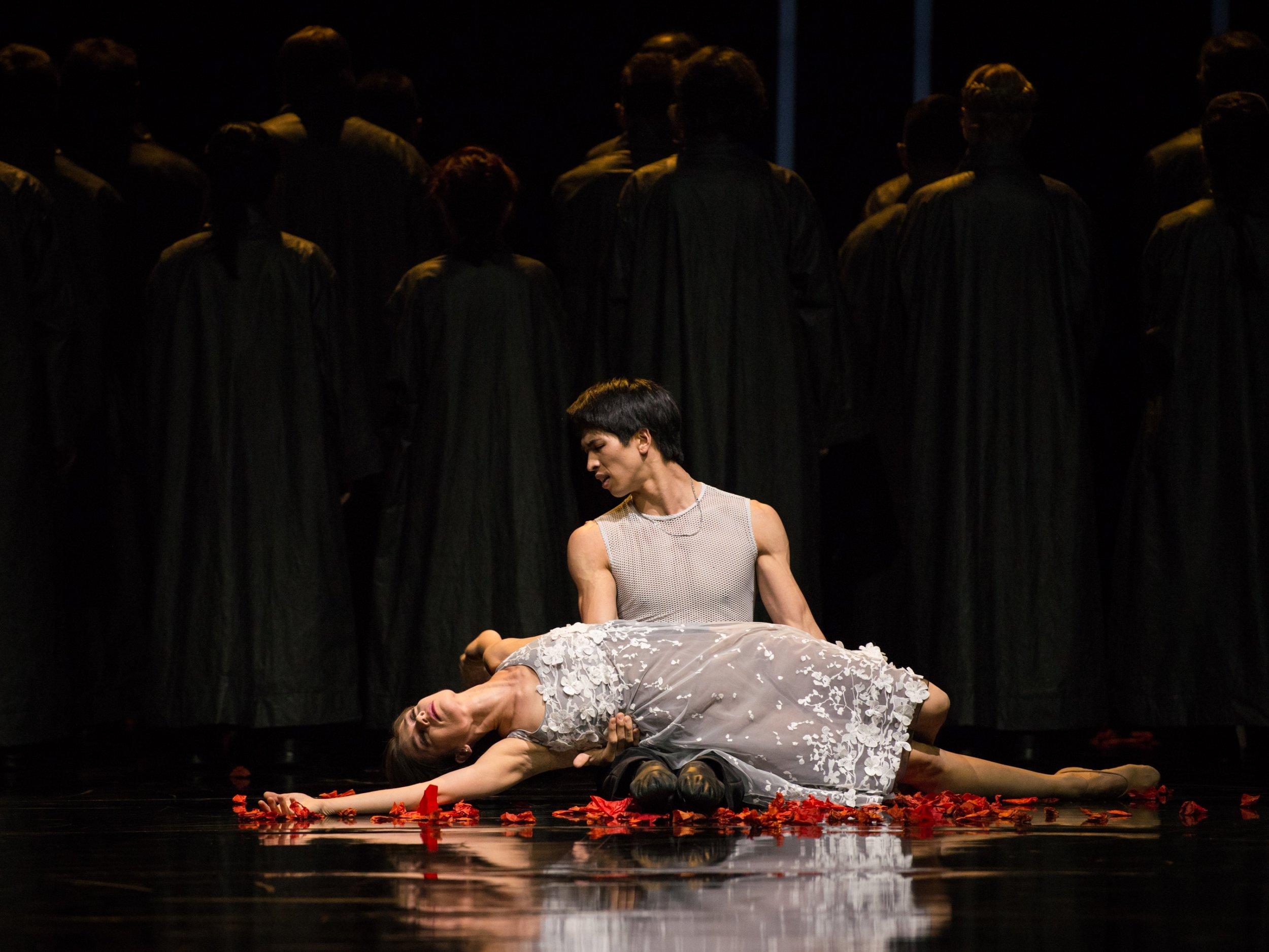 Masayu Kimoto / Maria Yakovleva  Copyright: Vienna State Ballet / Ashley Taylor