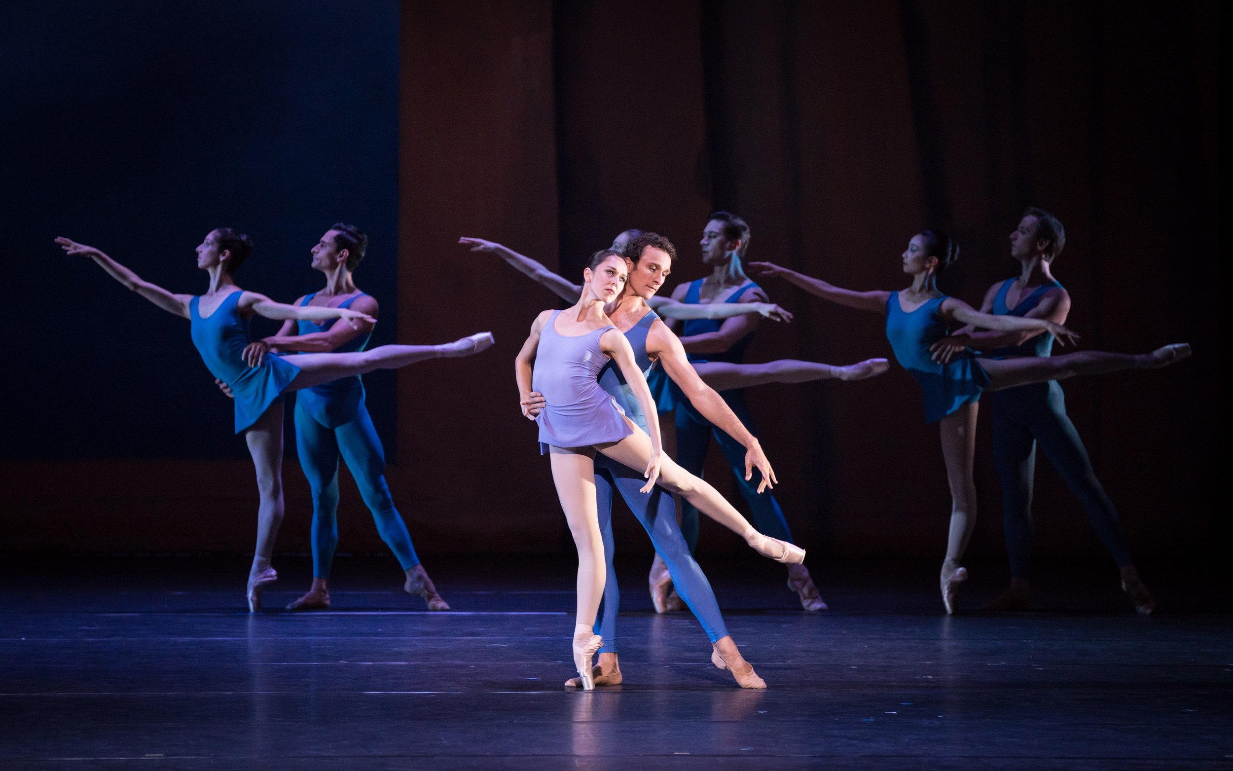 Nina Poláková and Roman Lazik. Copyright: Vienna State Ballet/Ashley Taylor