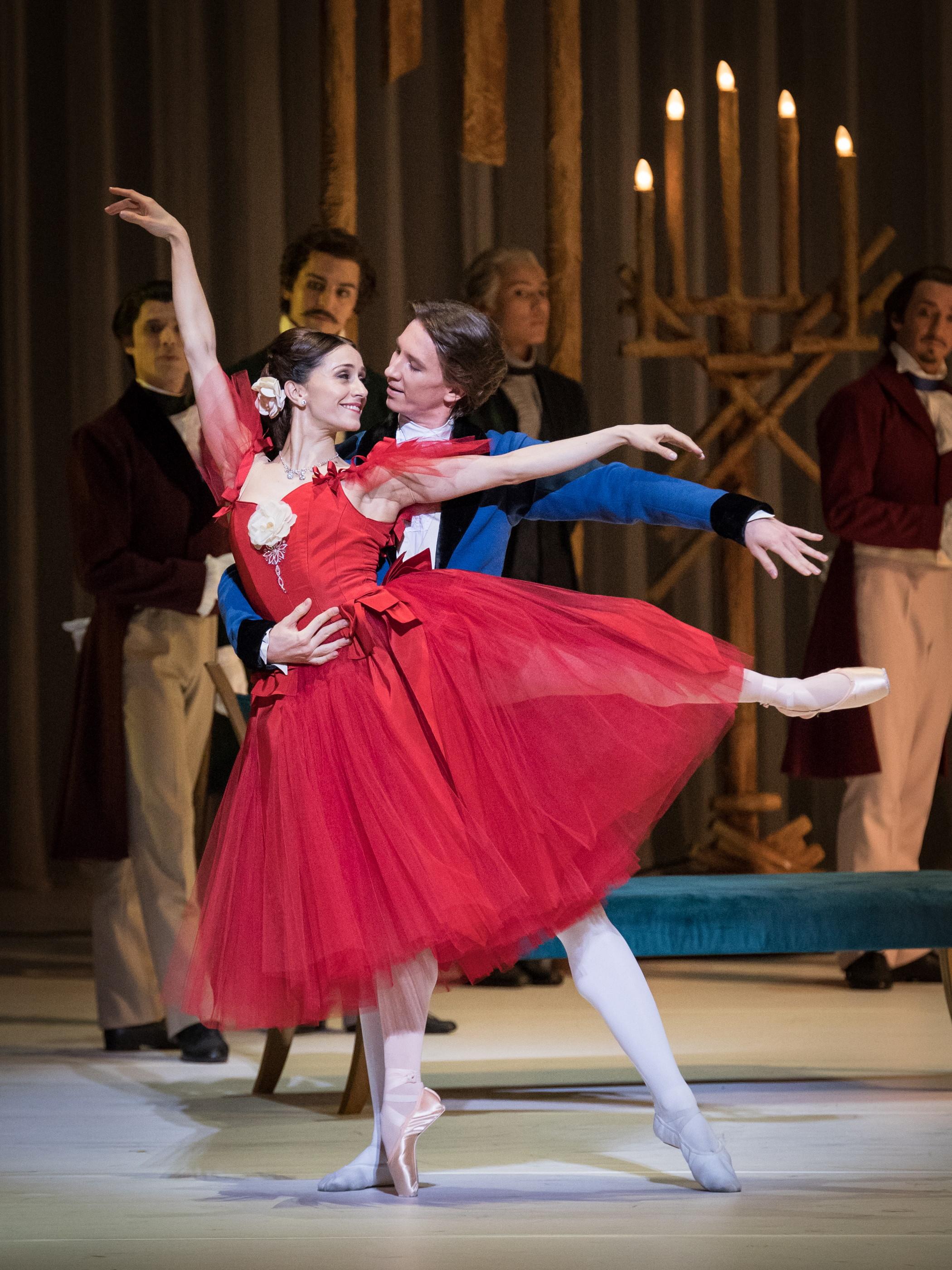 Marianela Nuñez and Vadim Muntagirov. Copyright: Vienna State Ballet/Ashley taylor