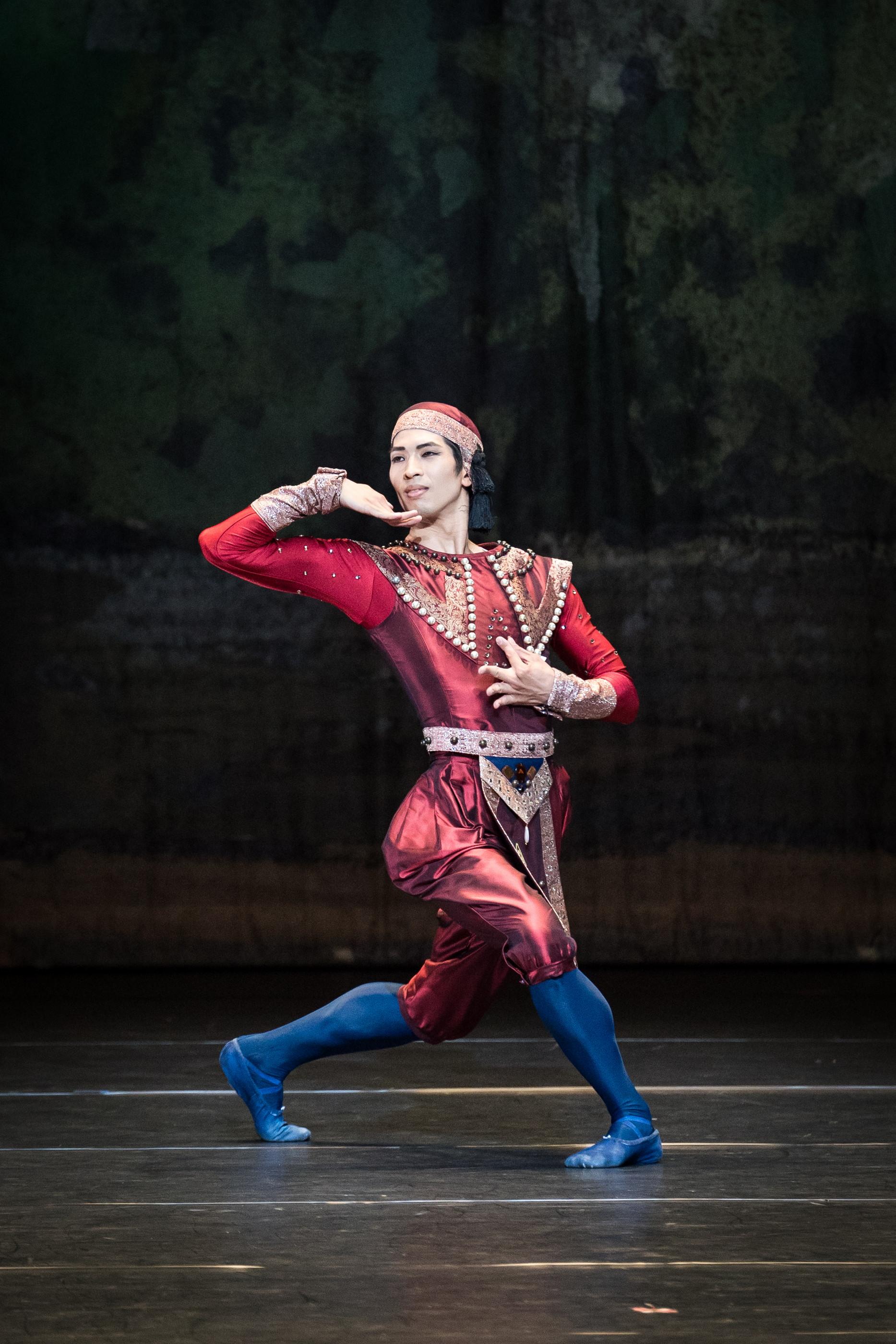 Masayu Kimoto. Copyright: Vienna State Ballet/Ashley Taylor