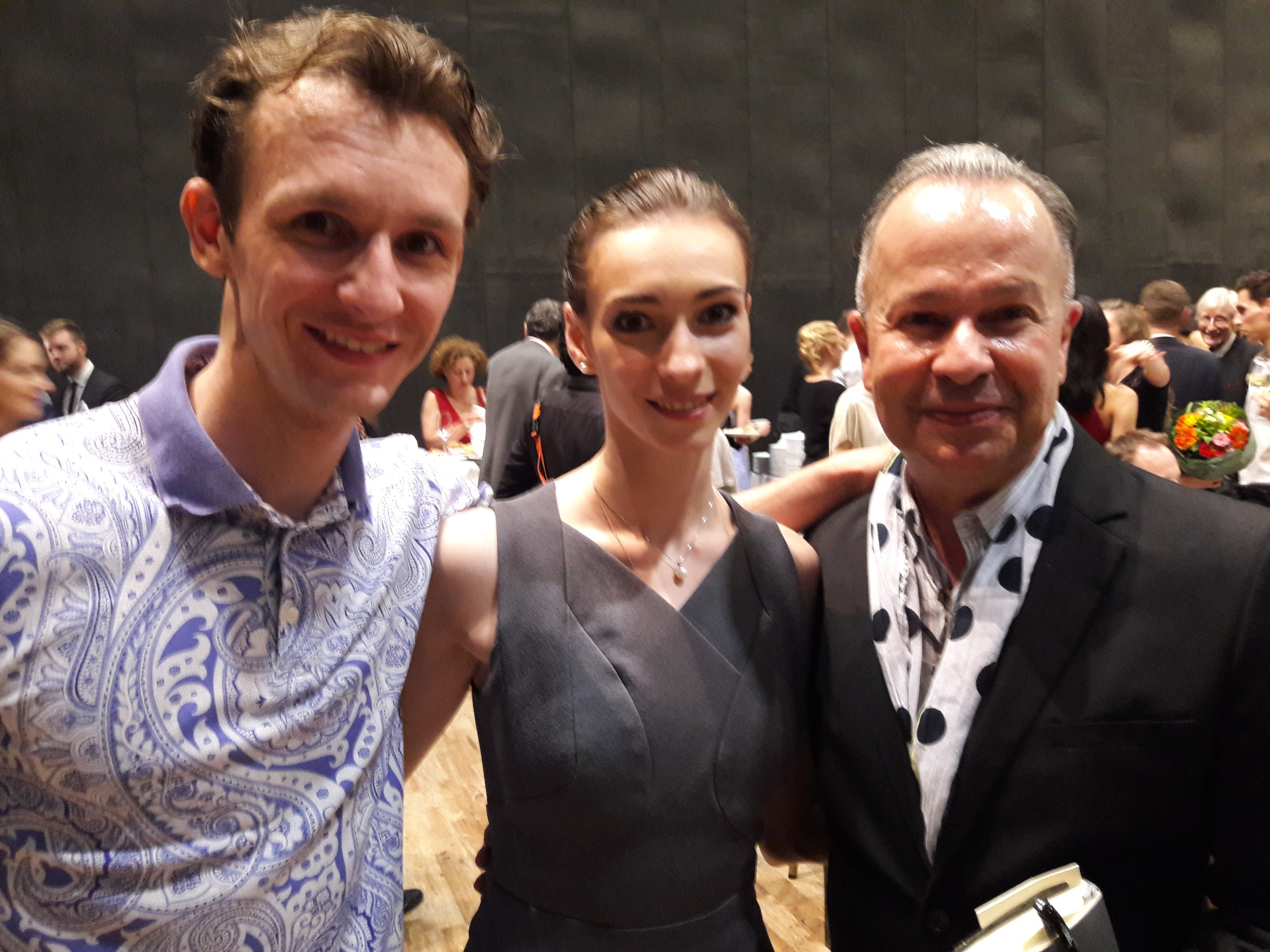 with Olga Smirnova and Semyon Chudin.