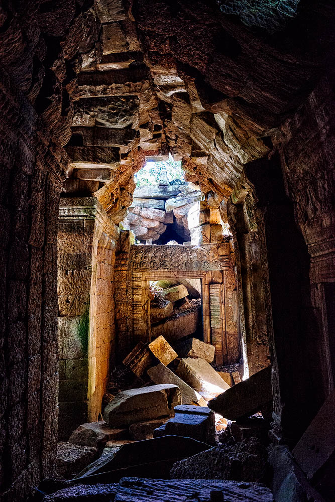 Ruins in Ta Prohm