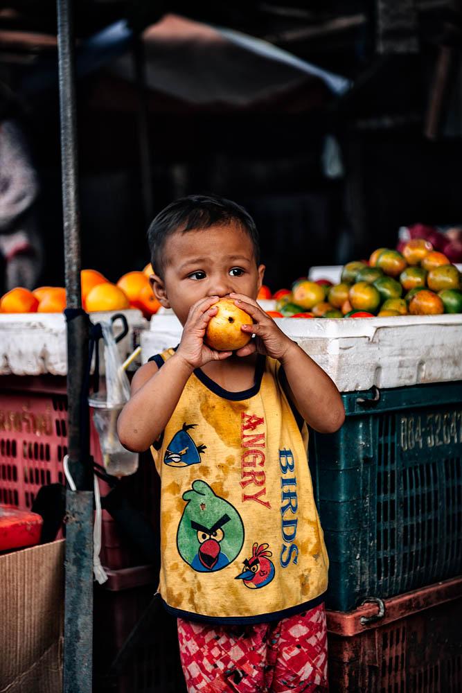 The fruit child
