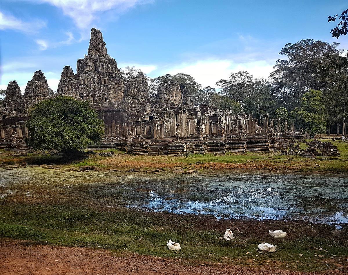 Landscape in Angkor Thom