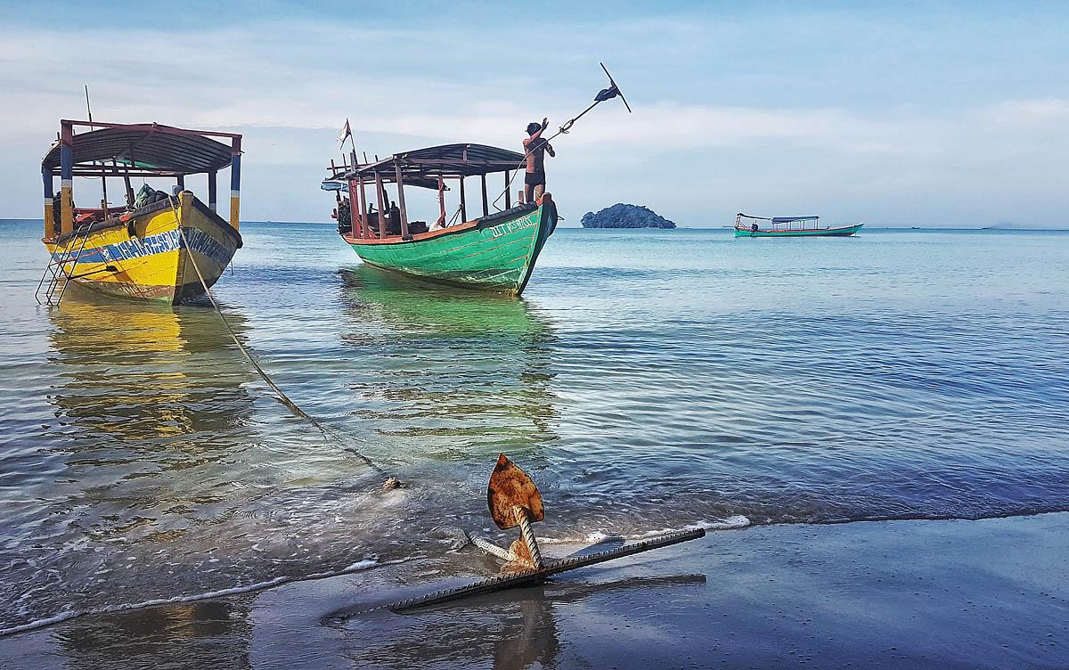 Boats of Sihanoukville