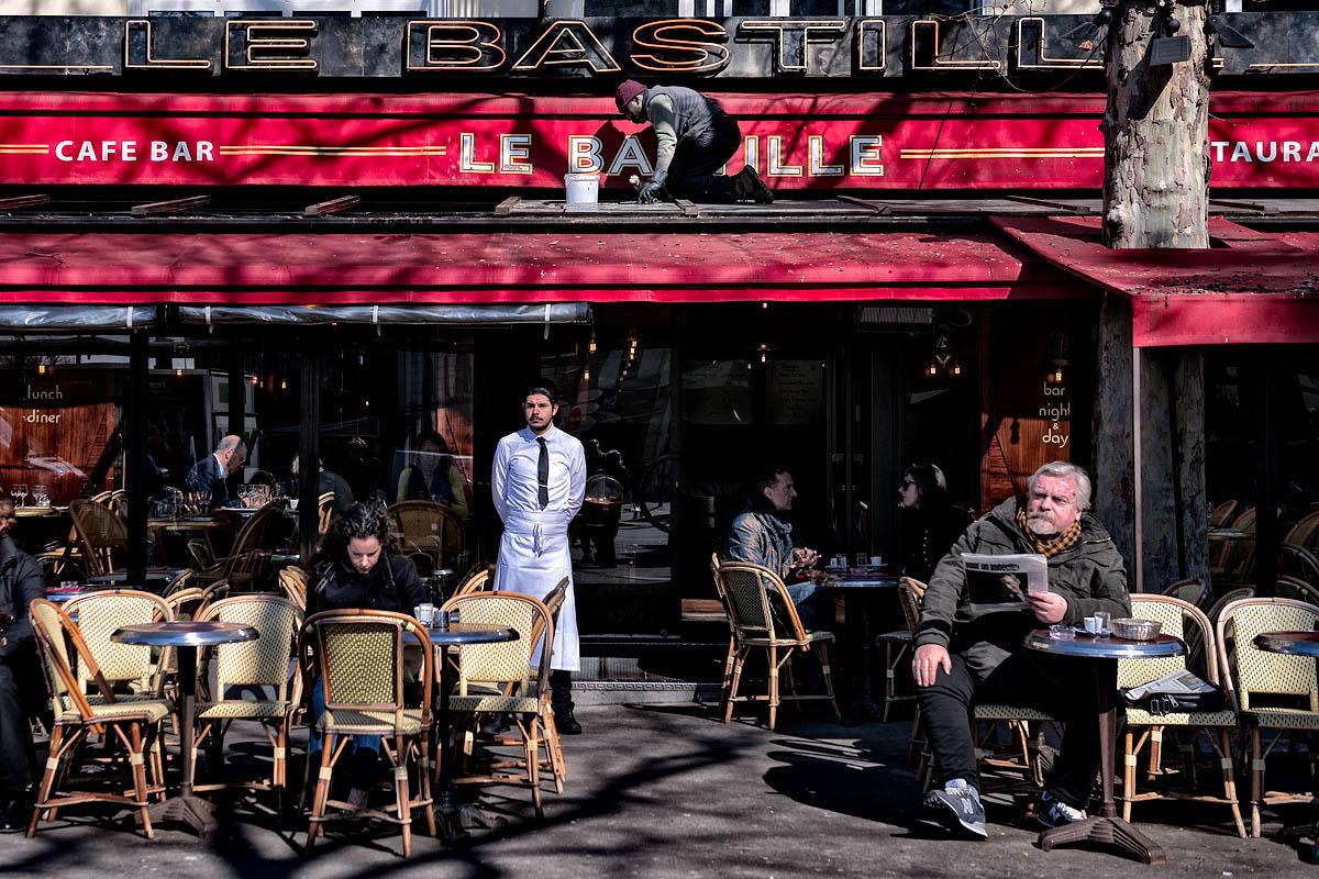 The Bastille waiter
