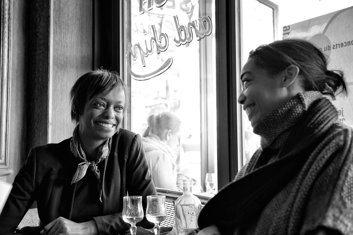 Women in a café