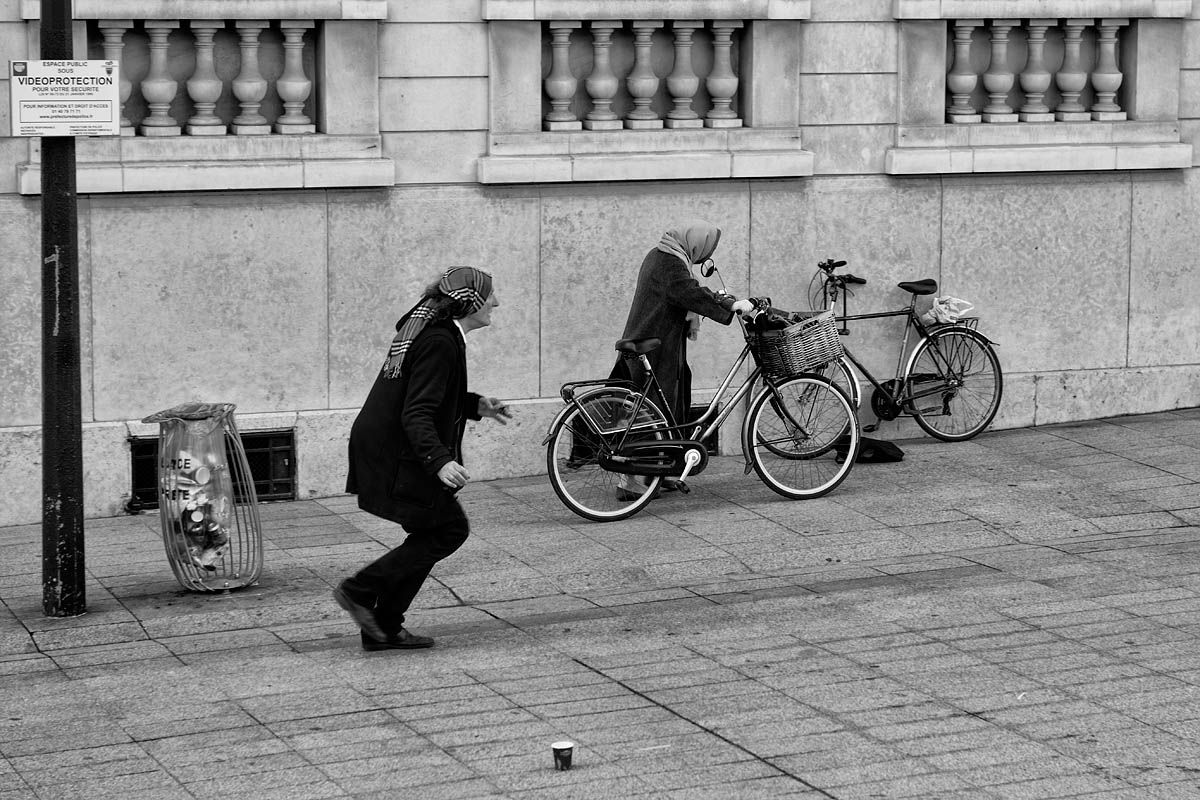 The old and the bicycle