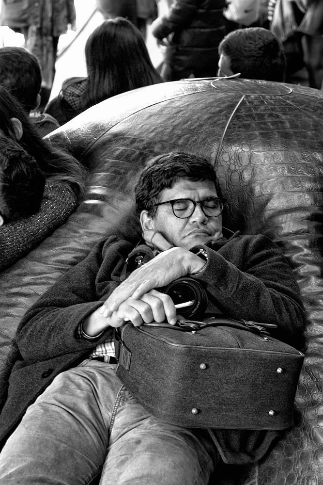 Sleeping at Orsay