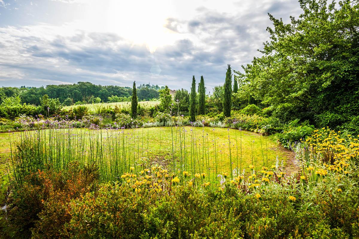 Garden in Siena