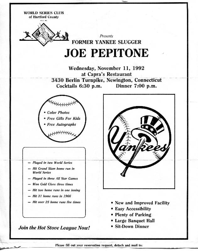 19921111 Joe Pepitone flyer.jpg