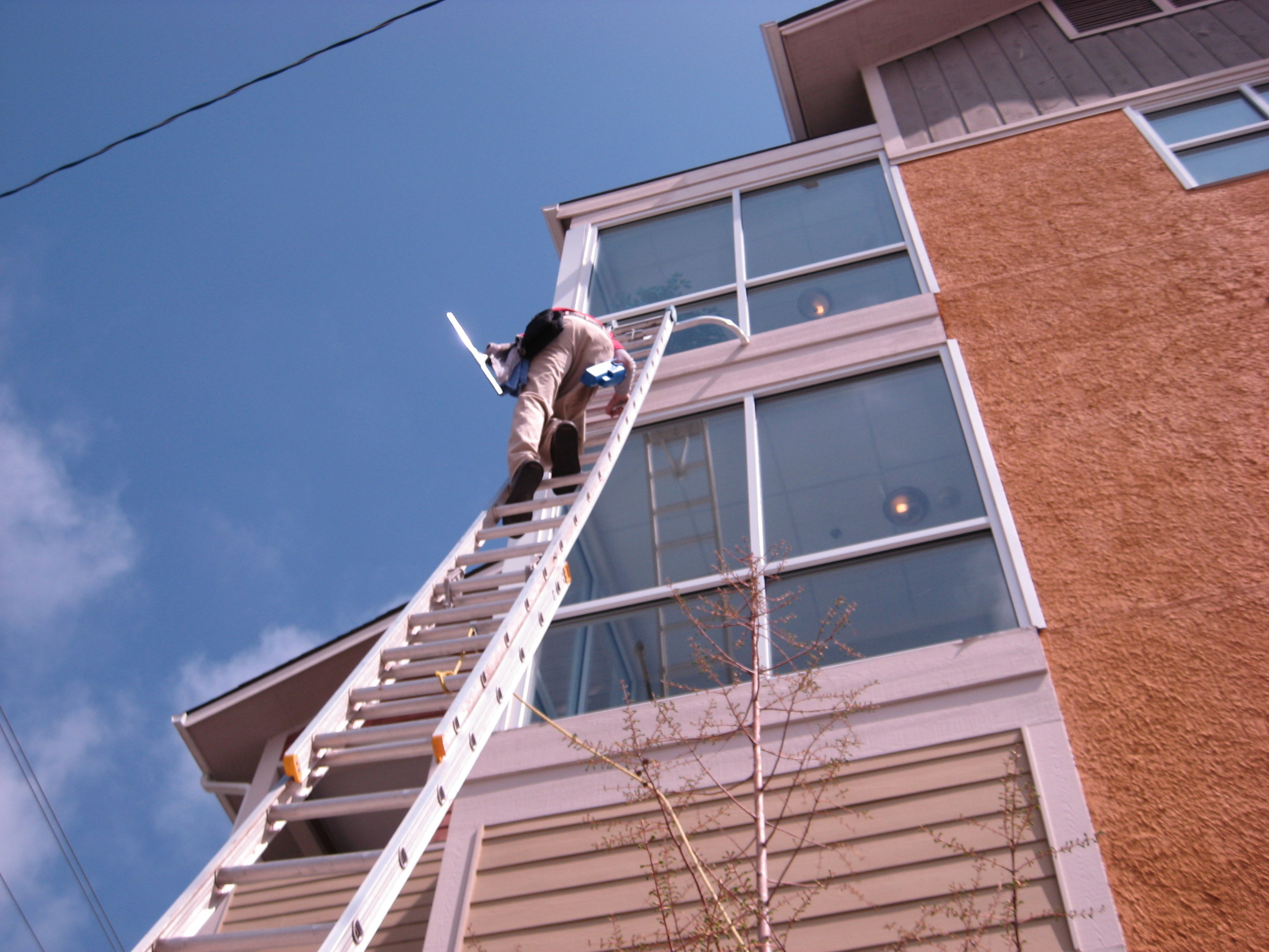 High Access Exterior Cleaning and Maintenance Asheville North Carolina