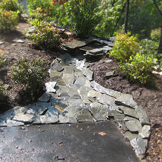 Dry Creek Stone Swale Asheville, NC