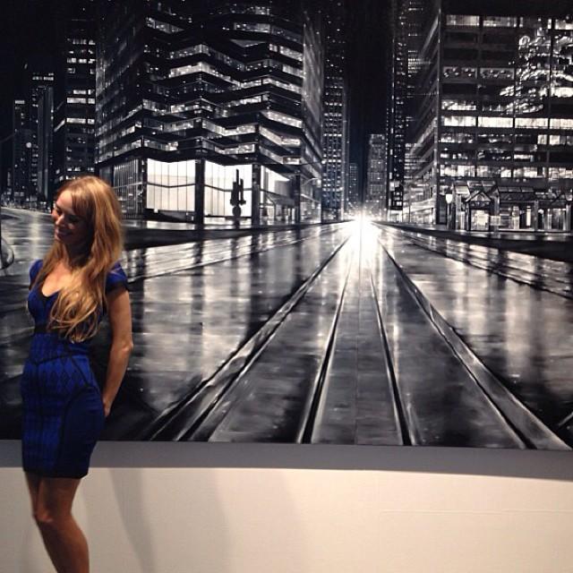 Rhiana at Nuit Blanche Toronto