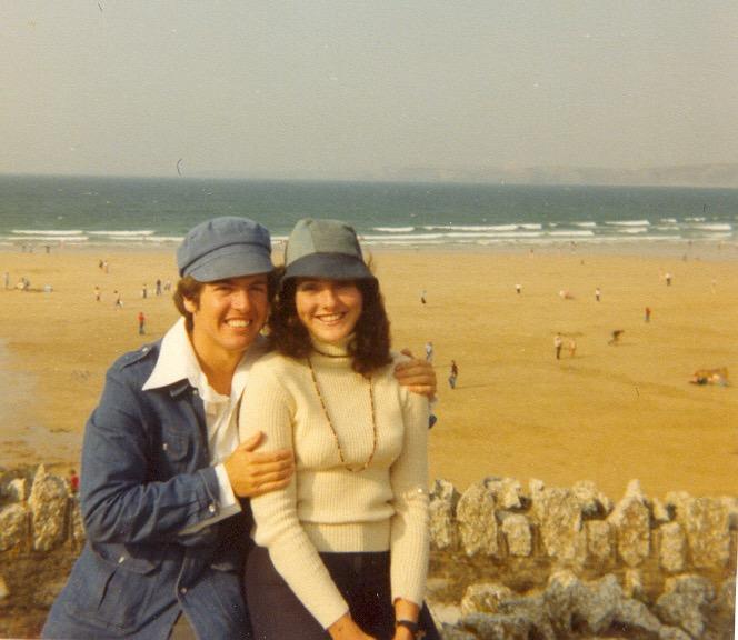 Dr Harry & Jacquie Brunjes 1977 - look at those hats!