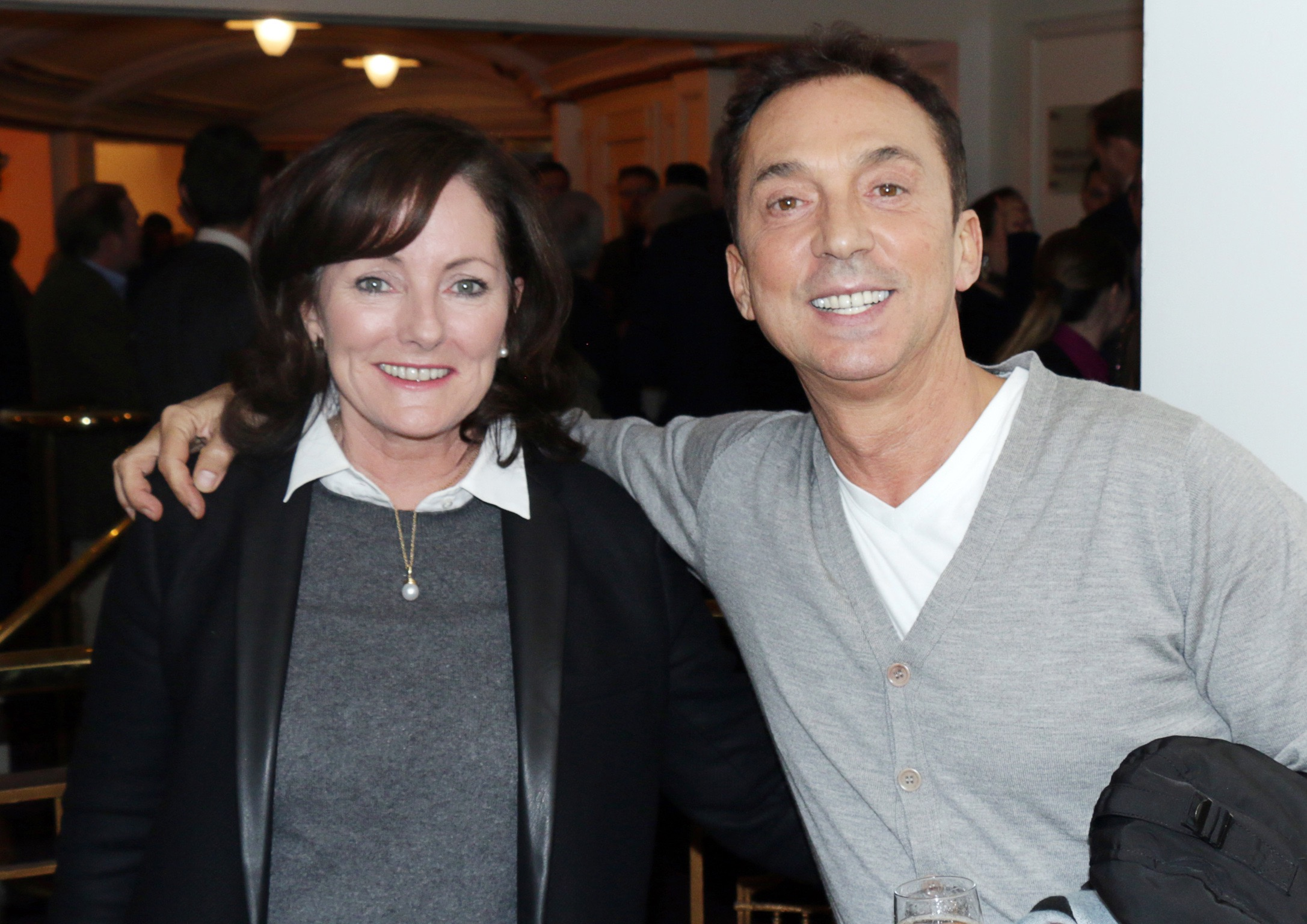 Jacquie Storey with Bruno Tonioli