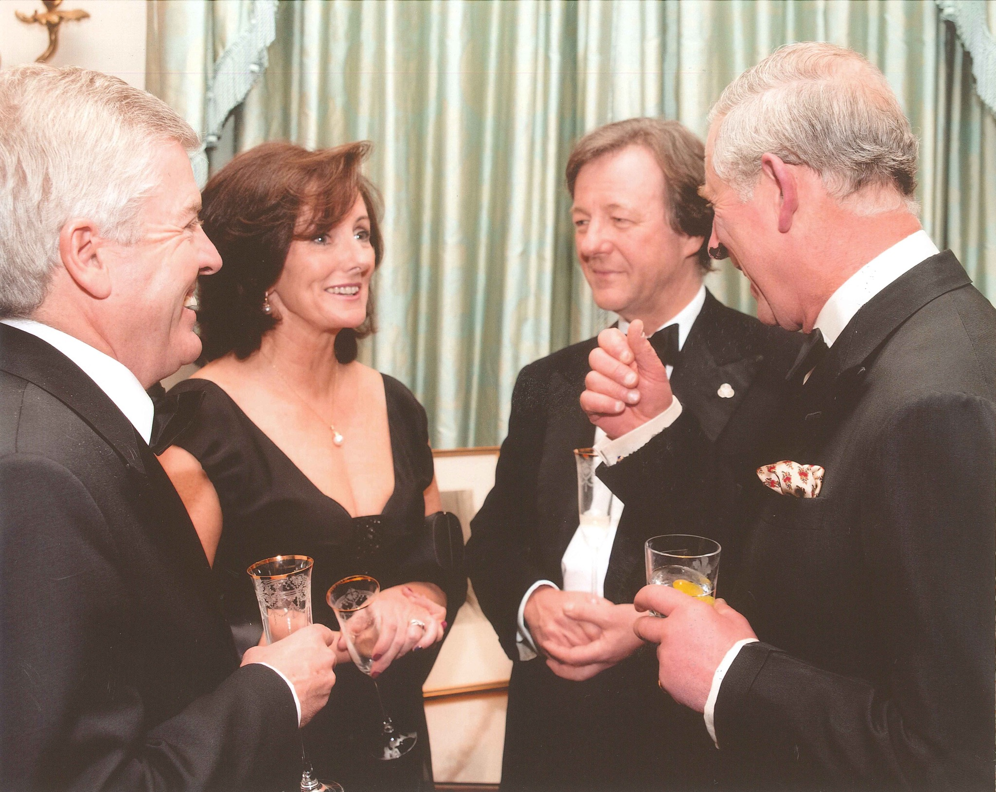 Dr Harry and Jacquie Brunjes at Clarence House I was honoured to meet HRH Prince Charles at a College of Medicine Reception Dial Medicine for Murder