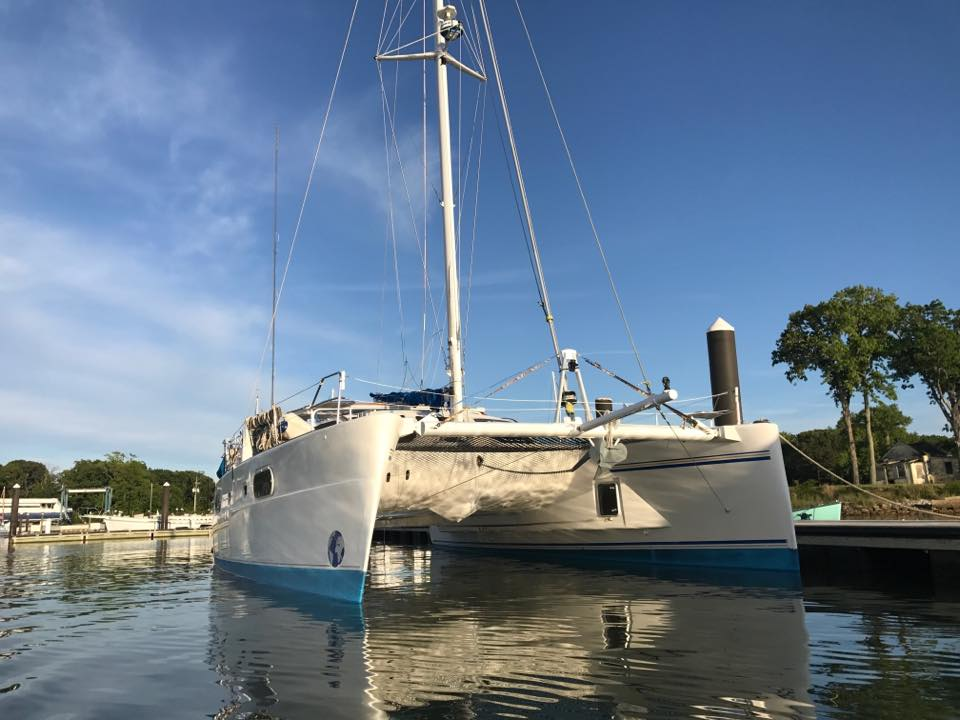 Seas Life was purchased in 2016 after a long search for the perfect sailing vessel!