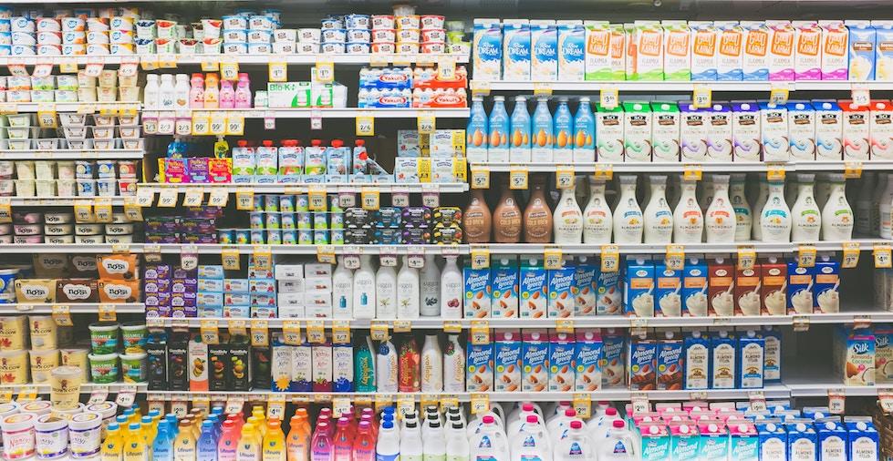 lácteos, dairy, leche, yogur, calcio, mantequilla, queso