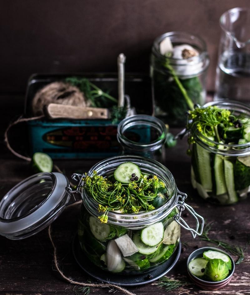 probioticos, prebioticos, verduras lactofermentadas, fermentacion