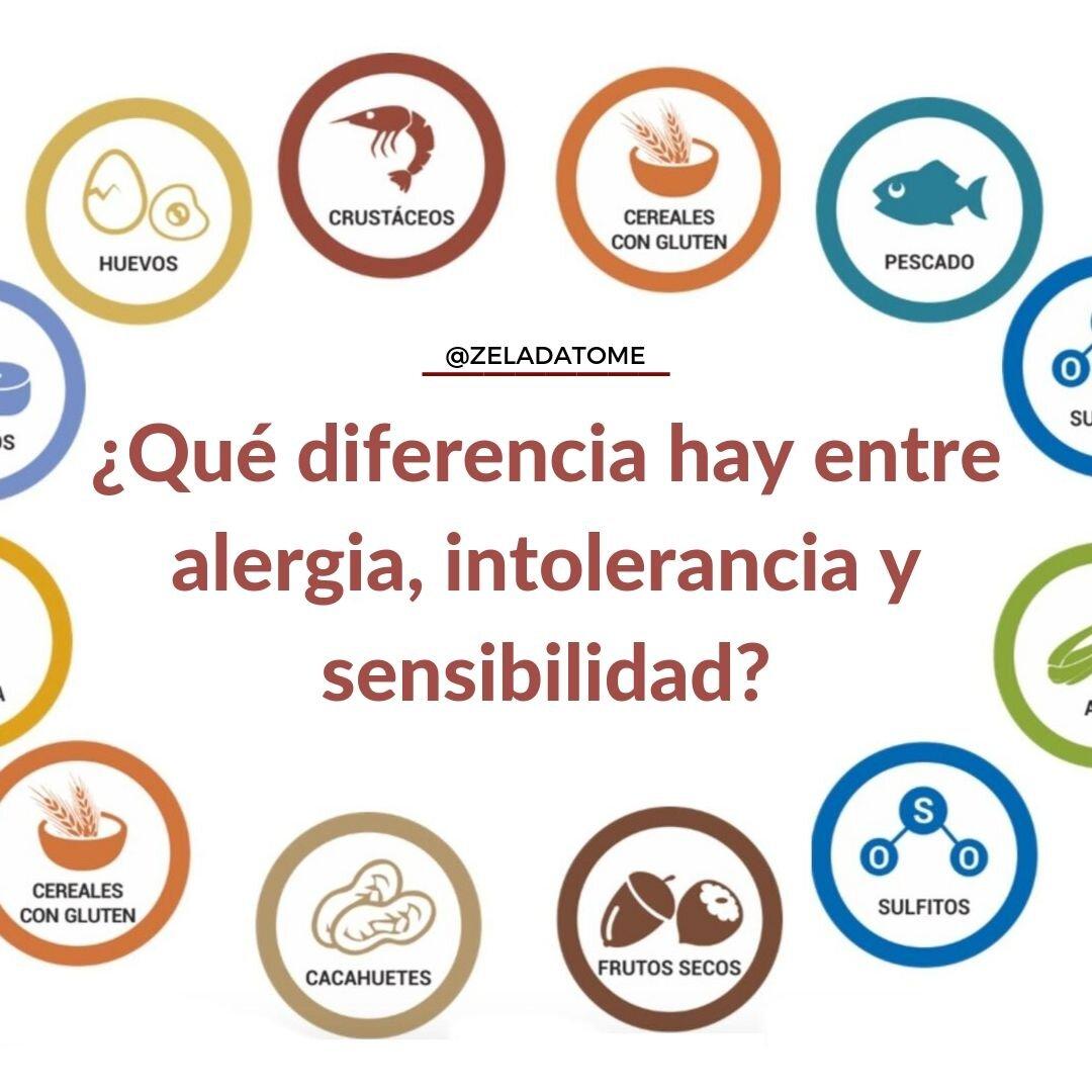 intolerancias alergias sensibilidad al gluten no celiaca