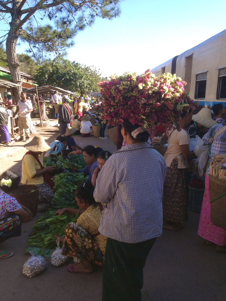 Flower business is a good business with decent margin compared to the vegetables