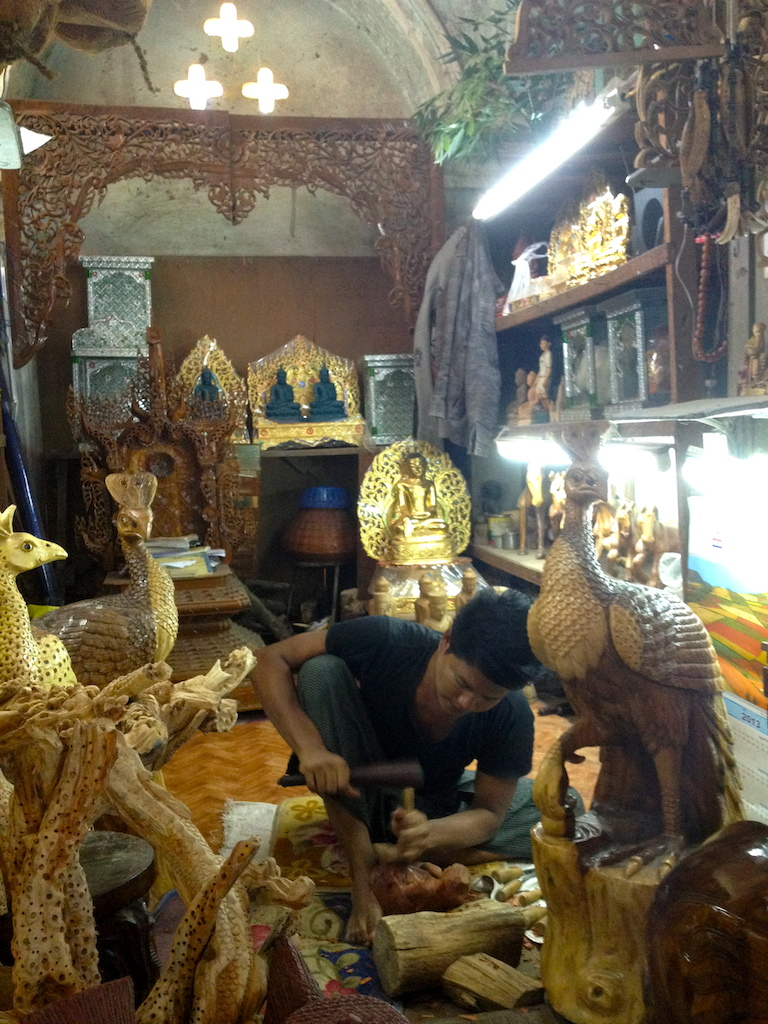 Mahamuni temple sculptors