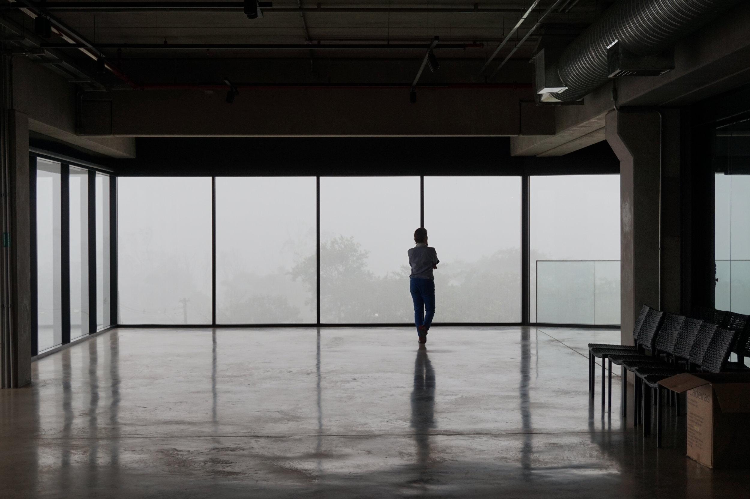 Cenimar em um momento de reflexão.   Foto: Pedro Oranges