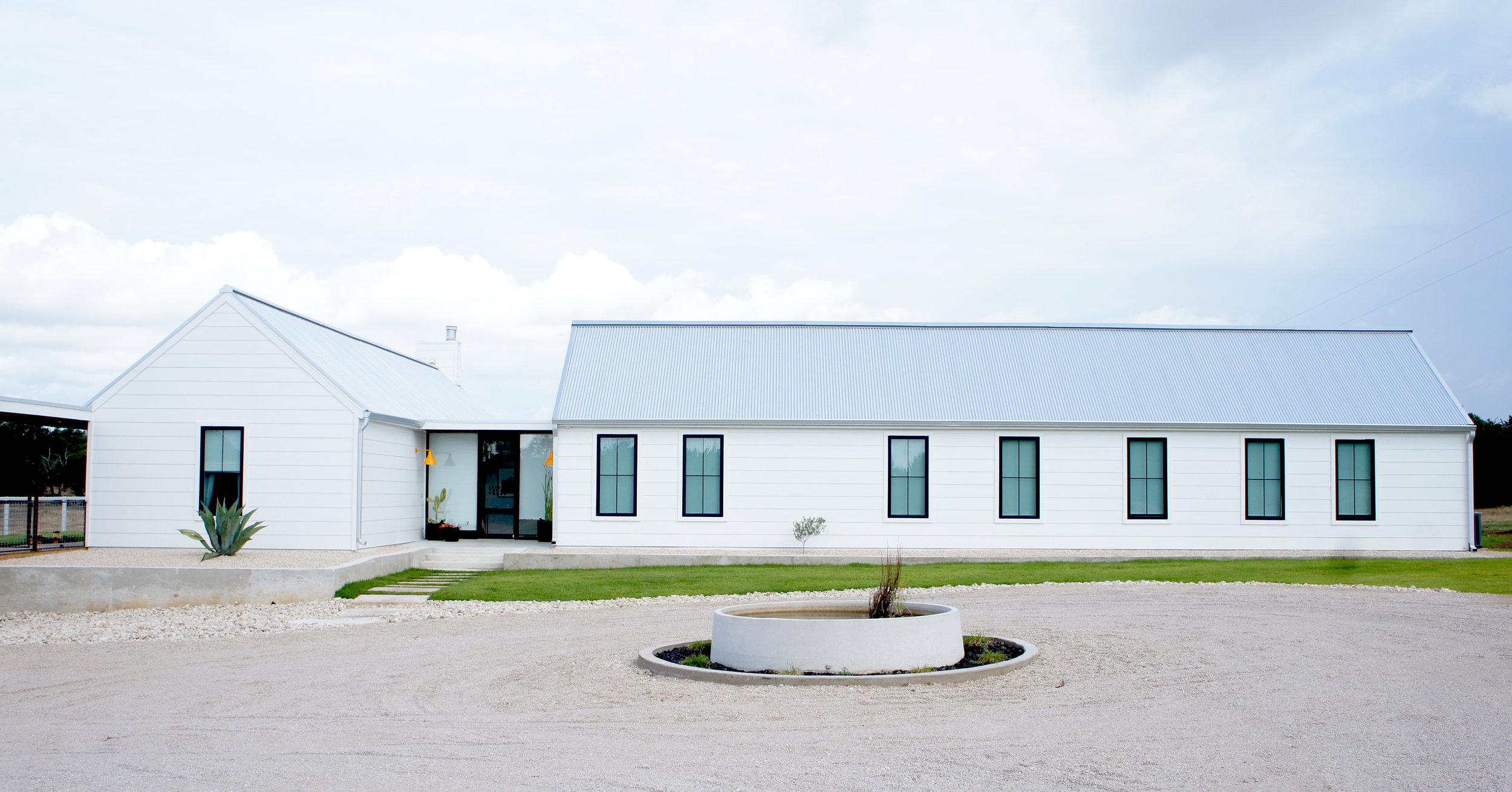 modern farmhouse Texas design