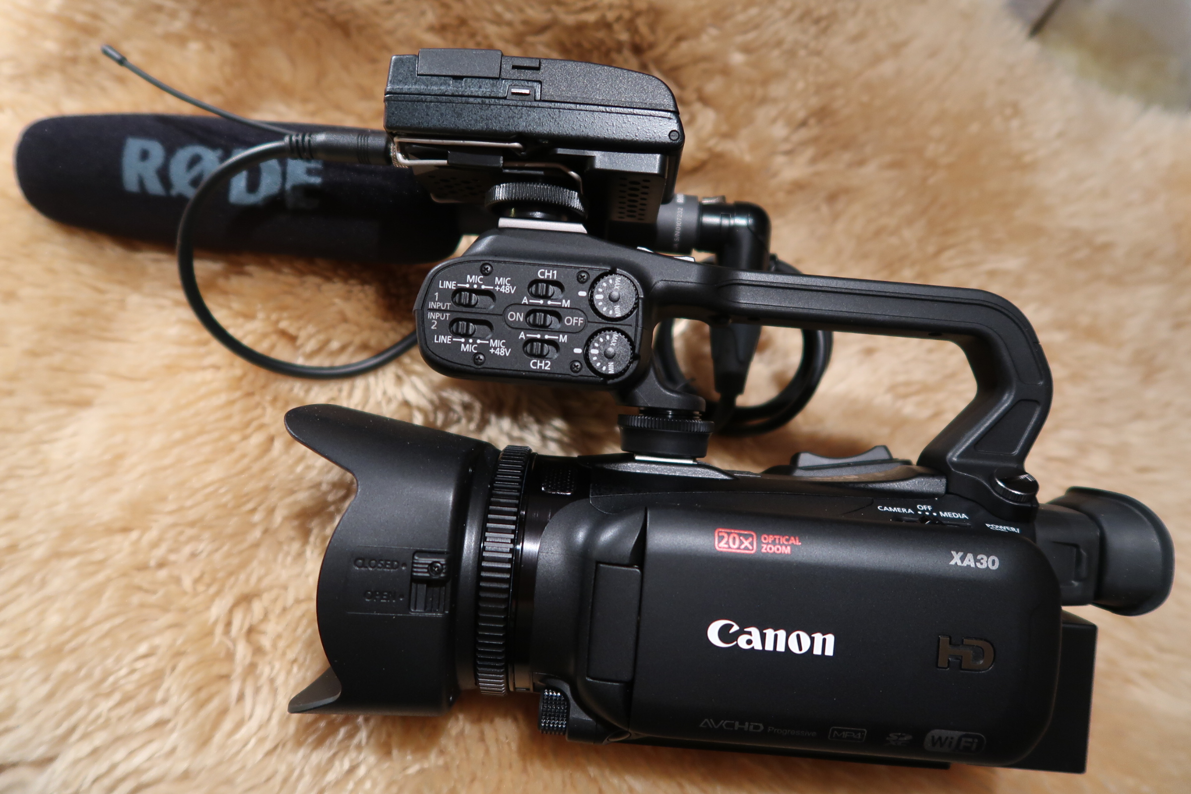 My new main shooting camera one model network then the show Alone was filmed on.
