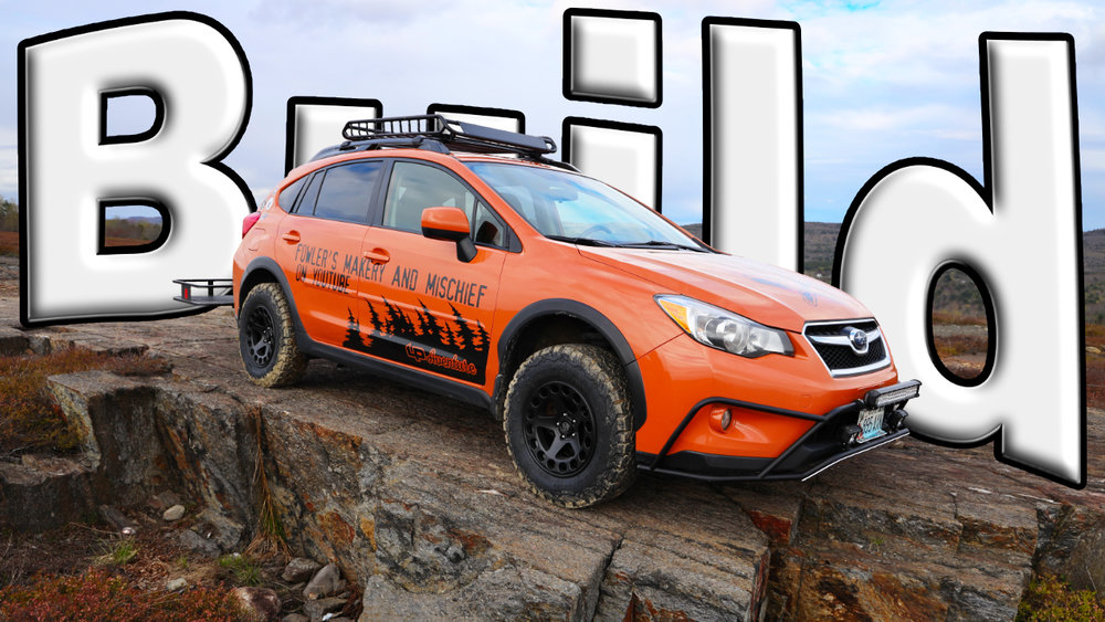 Building The OFFROAD Subaru Crosstrek Makery And Mischief