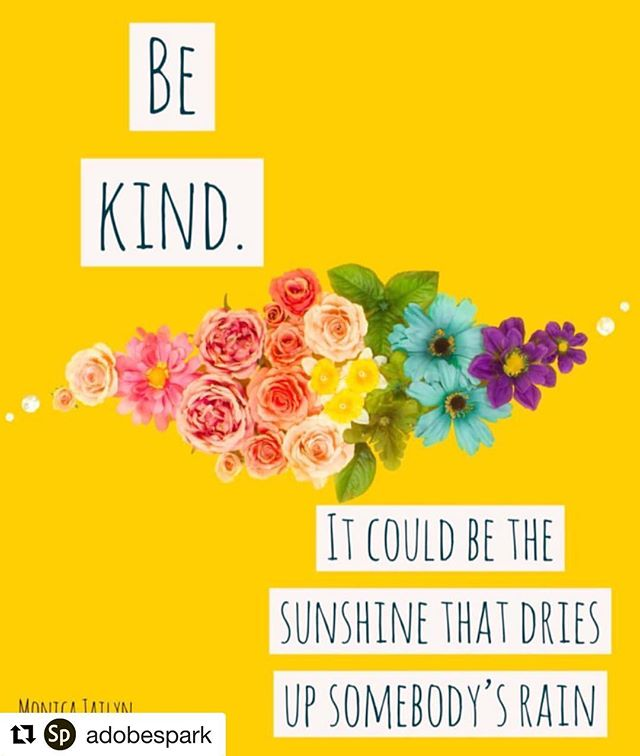 Let's start the week with kindness ☺️☀️ . . . . . . ・・・ #adobespark #quotedaily #thecraftybee #thoughtfulquotes #yourock #itsabeautifullife #inspirationseed #mondayquotes #mondaymonday #mondaysbelike #mondayfeels #mondayquote #mondayfeeling #mondayvibes #mondayinspiration #inspirationalwords #inspirationalquotesandsayings #inspirationquote