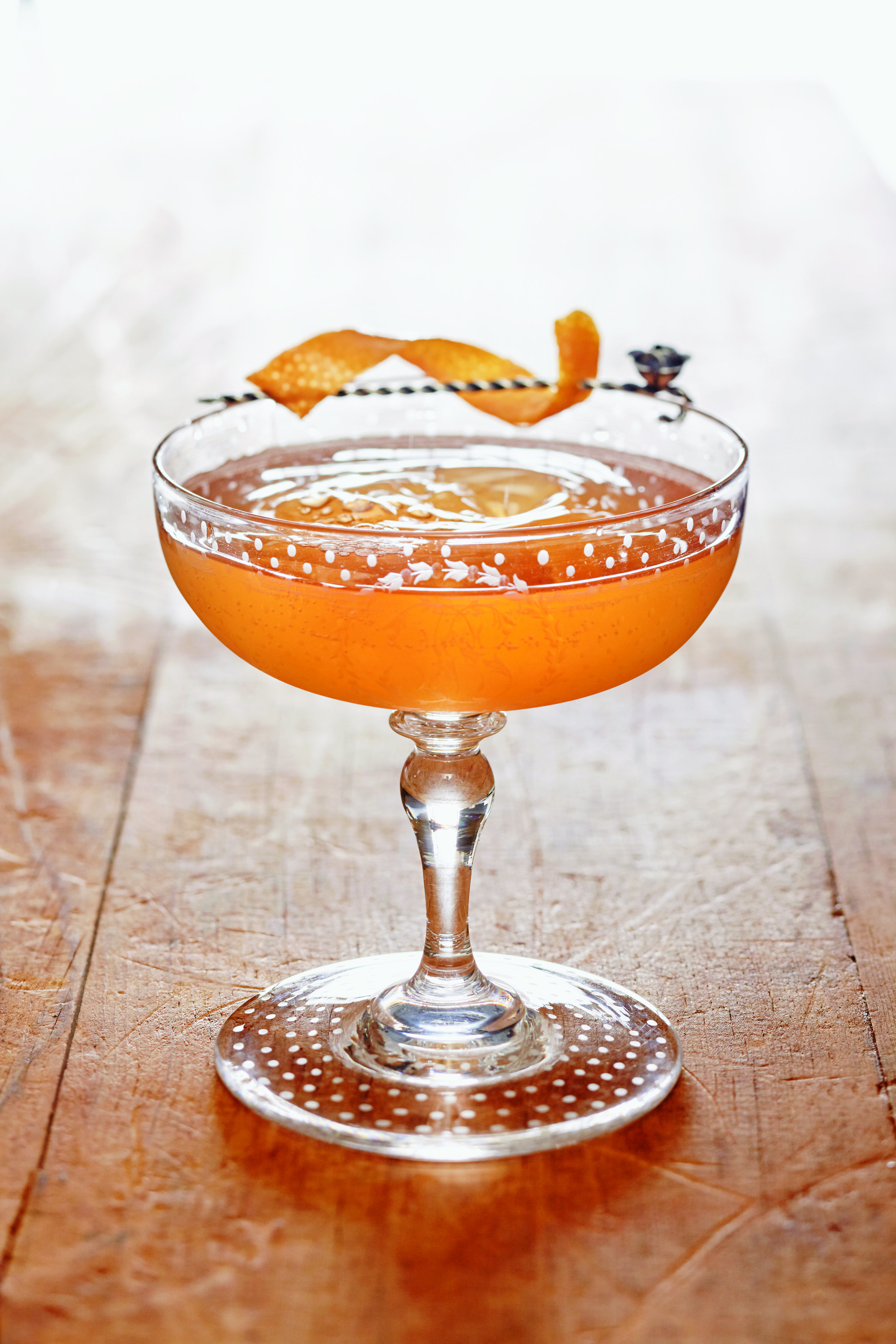 Warren Bobrow's Benny Goodman Fizz Recipe is Perfect for Infusing with Maui Waui